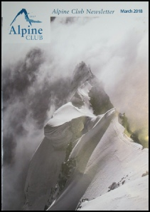 Alpine Club Newsletter