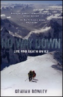 No Way Down K2 mountaineering books