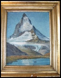 Matterhorn mountain paintings art