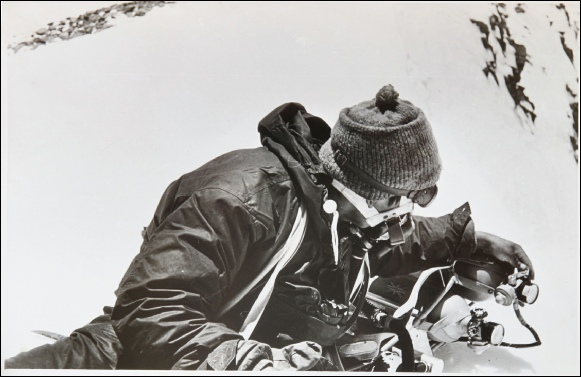Alf Gregory Ang Nima Sherpa Mount Everest 1953.