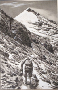 Colonel Norton at 28,000 feet - Mount Everest 1924