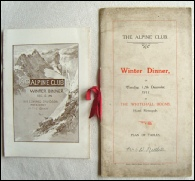 Mountaineering Books E T Compton AC Menu