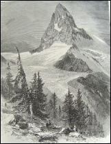 image of Edward Whymper, The  Matterhorn, Swiss Pictures 1866