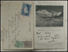 Mount Everest 1924 postcard by Capt. Noel Mount Everest mountaineering books