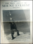 Mount Everest 60th Anniversary: Mount Everest mountaineering books Ed Hillary and Tenzing