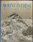 Mount Everest Reconnaissance 1951 by Eric Shipton Mount Everest mountaineering books