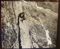 Siegfried Herford Great Flake Central Buttress Scafell