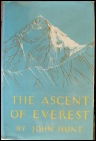 The Ascent of Everest 1953 - John Hunt Mount Everest mountaineering books