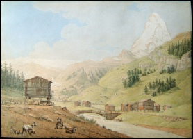 Zermatt and the Matterhorn by Steinlen