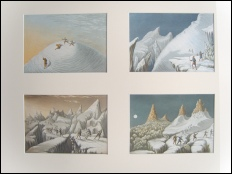Baxter oil prints of the Ascent of Mont Blanc